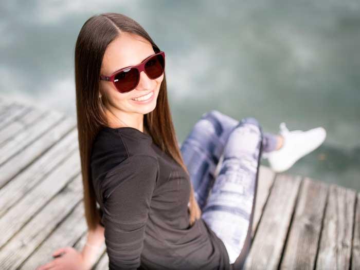 UV-Schutz mit der richtigen Sonnenbrille © gloryfy unbreakable eyewear / Hannes Sautner