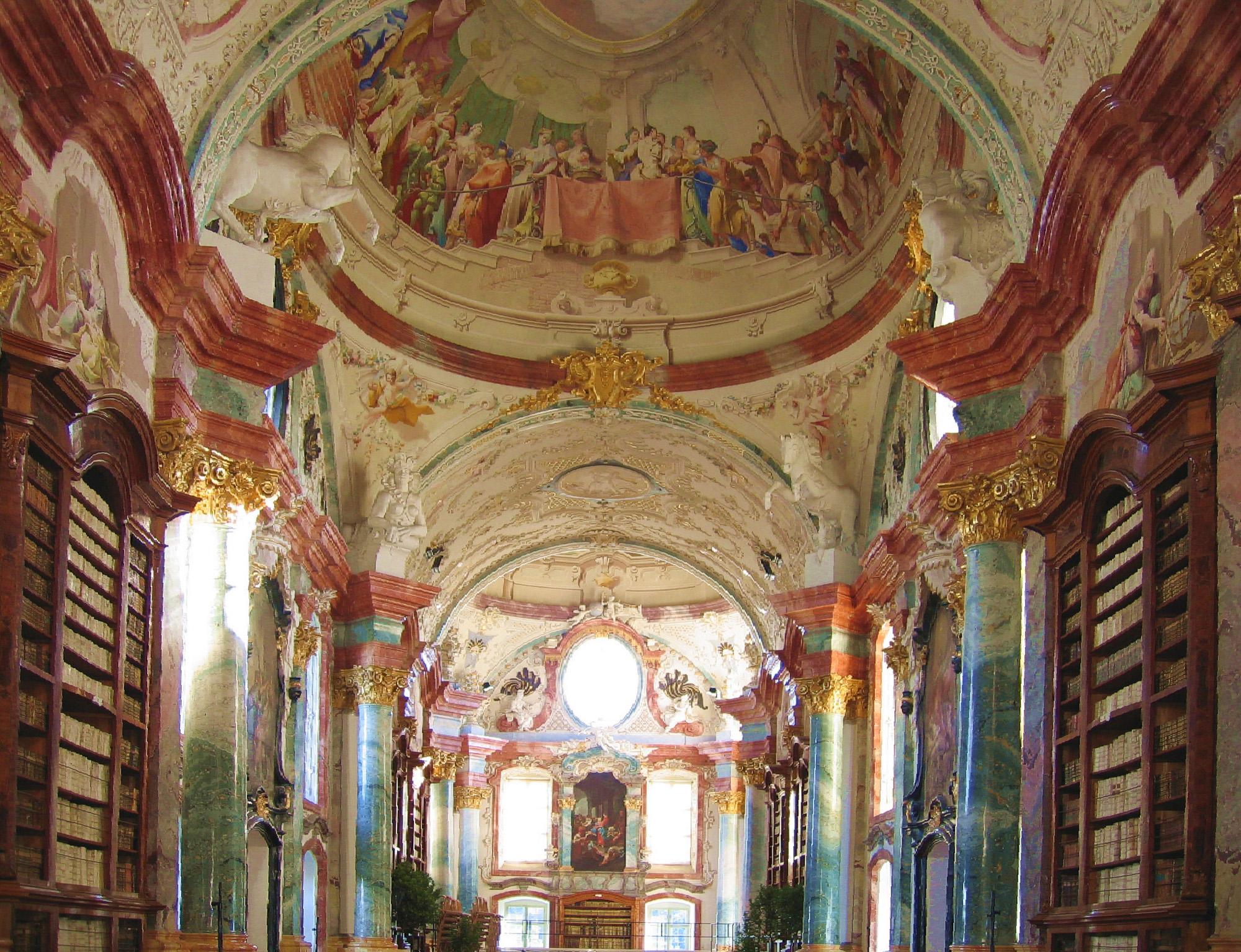 Bibliothek Stift Altenburg