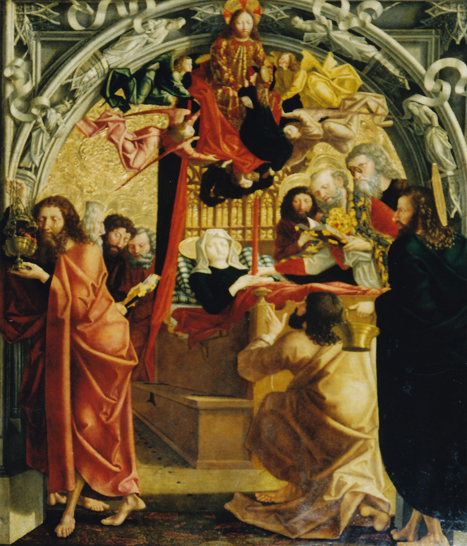 Pacher Altar - Tod Mariens
