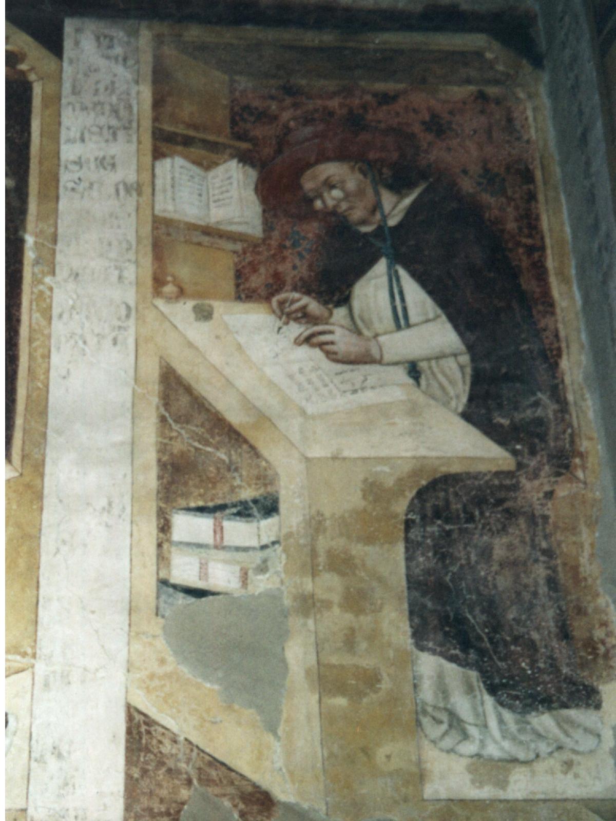 Hugo von Saint Cher mit Nietbrille