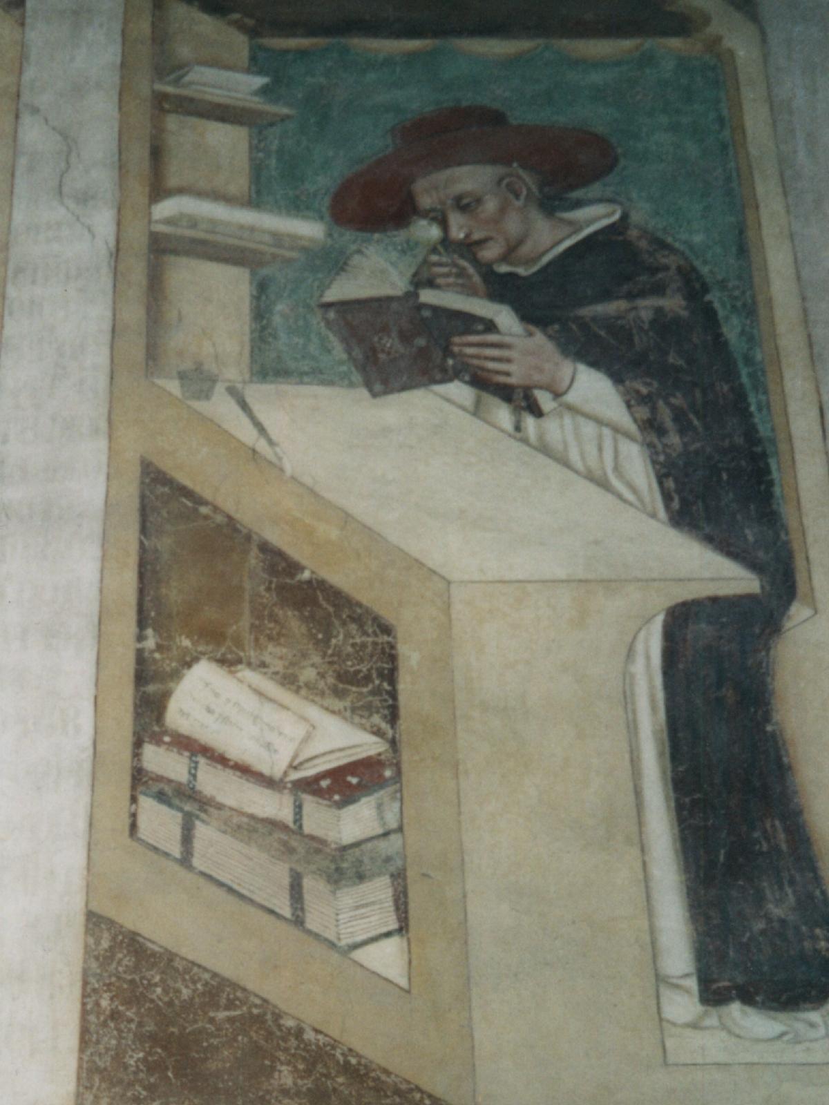 Nicolaus von Rouen mit Einglas