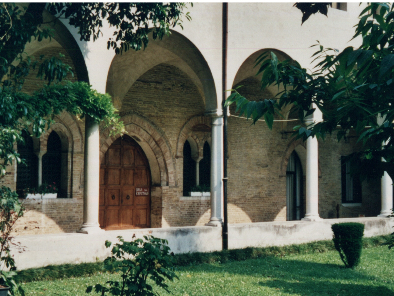 Kreuzgang im Kloster San Nicolo in Treviso