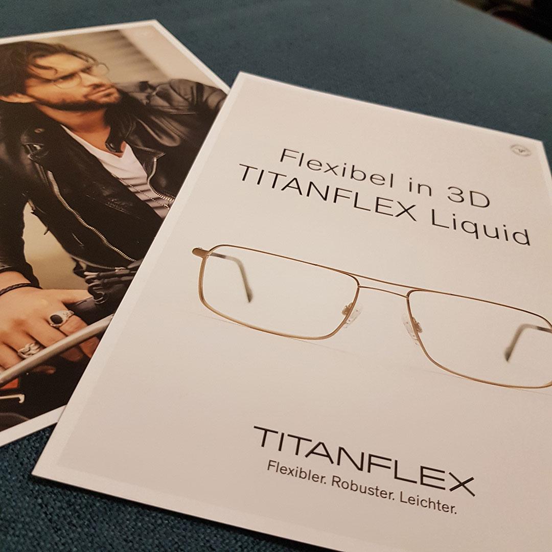 Titanflex: Flexibel in 3D – wenn robuste Brille nicht mehr ausreichen