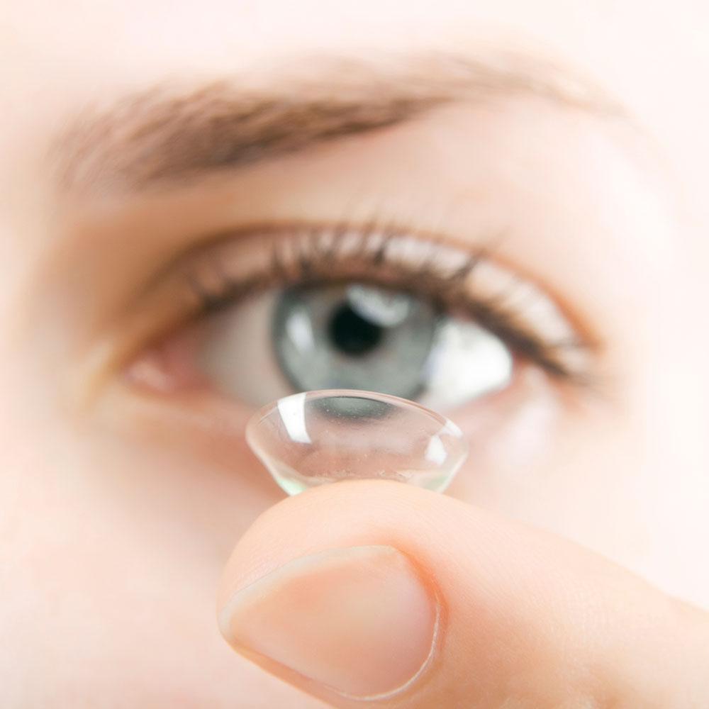 Allergie und Umgang mit Kontaktlinse
