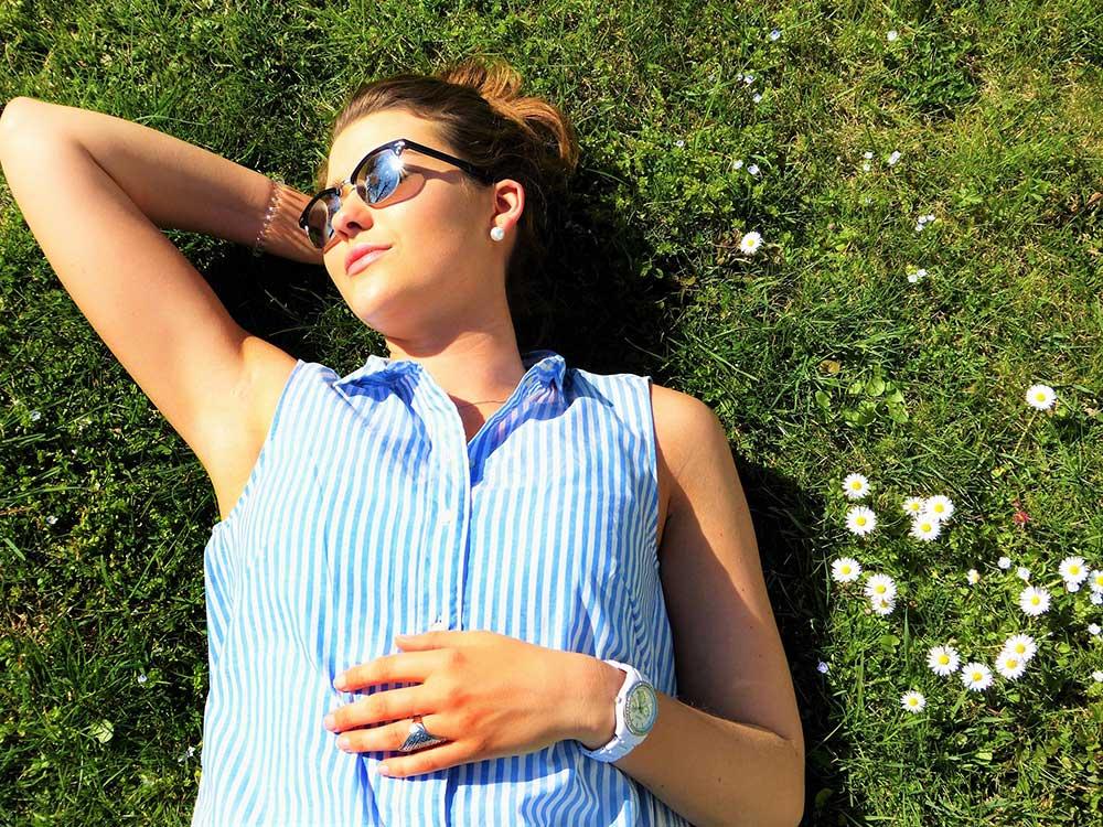 Immer mit Sonnenschutz